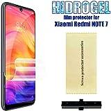 OcioDual Protector de Pantalla TPU Hidrogel para Xiaomi Redmi Note 7/Pro Flexible Membrana Lámina Protectora Cubierta…