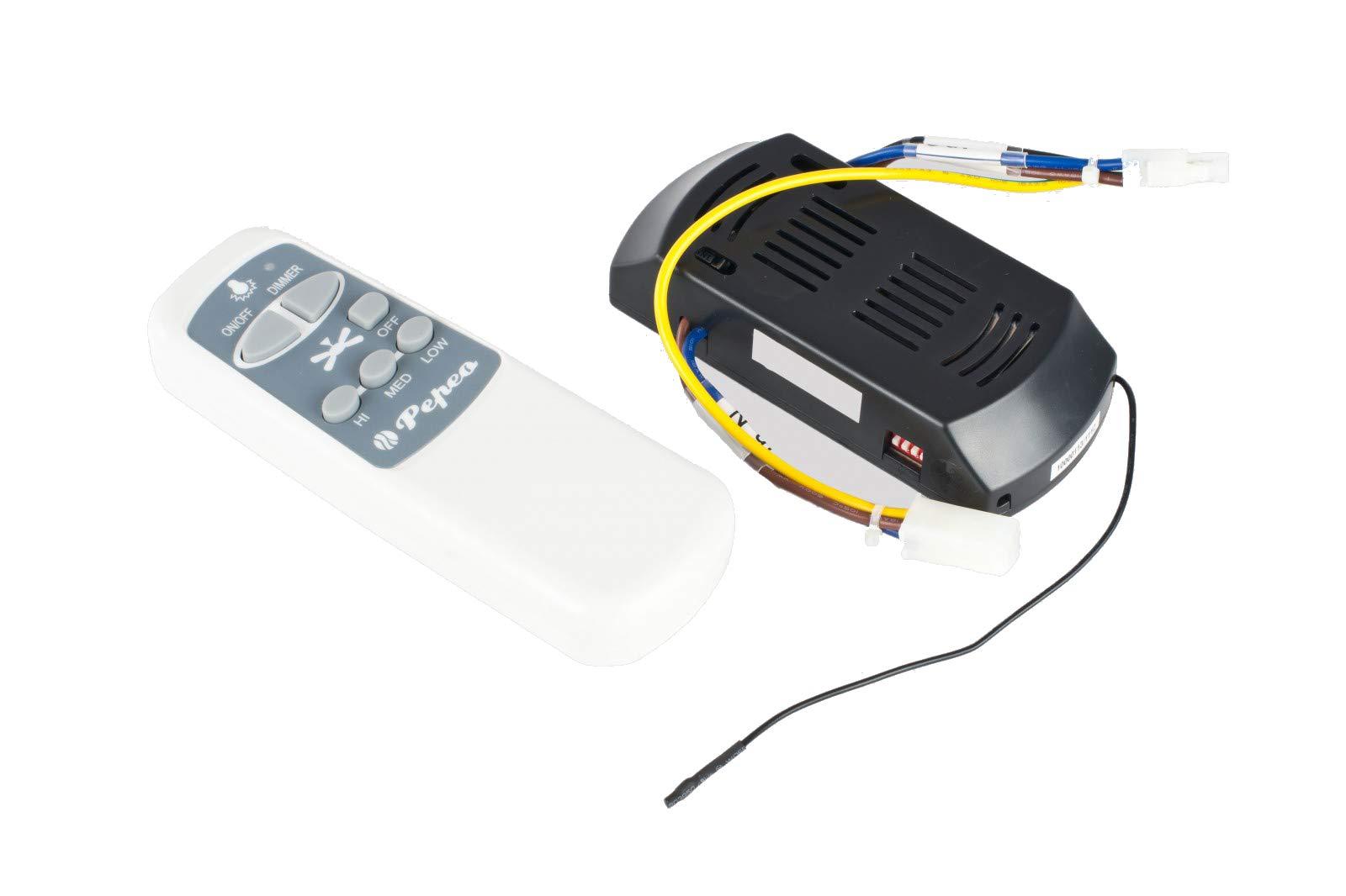 Pepeo Télécommande sans Fils Universalle pour Ventilateur de Plafond Westinghouse, CasaFan, Pepeo product image