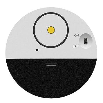 Homeofying - Alarma de Seguridad inalámbrica para Ventana de Puerta (100 dB, Sensor de vibración, Herramienta superdelgada): Amazon.es: Hogar