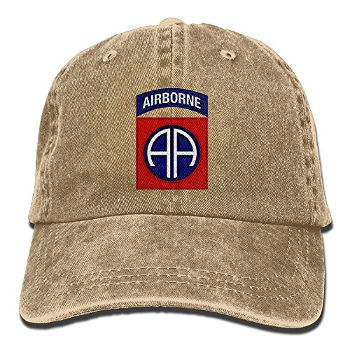 BETARIAN Army 82nd Airborne Division Embroidery Low Profile Plain Baseball Hat Dad Trucker Hat