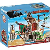 Playmobil - 9243 -  Dragons - Campement de l'île de Beurk