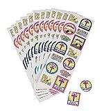 Fun Express - He Lives Sticker Sheet for Easter - Stationery - Stickers - Stickers - Sheets - Easter - 24 Pieces