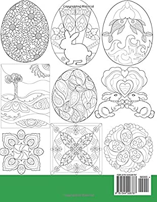 Amazon.com: Easter Coloring book: 30 Simple Designs for ...