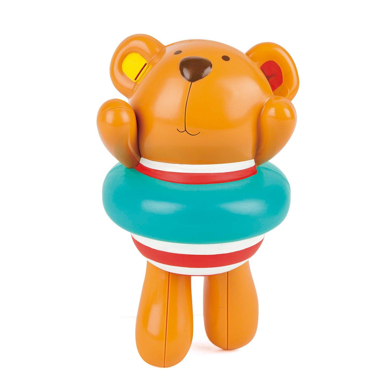 Amazon.com: Hape Kids Little Splashers Teddy\'s Umbrella Stackers ...