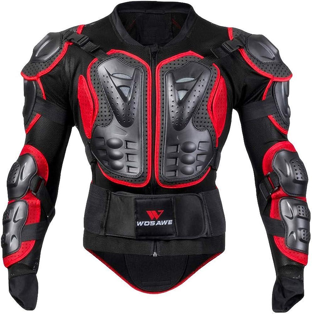 Veste Armure Moto Blouson Motard Gilet Protection /Équipement de Moto Cross Scooter VTT Enduro Homme ou Femme