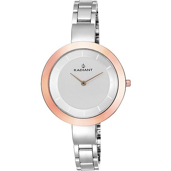 Reloj Radiant mujer New TiffanyŽs RA460204 plateado [AB6230] - Modelo: RA460204: Amazon.es: Relojes