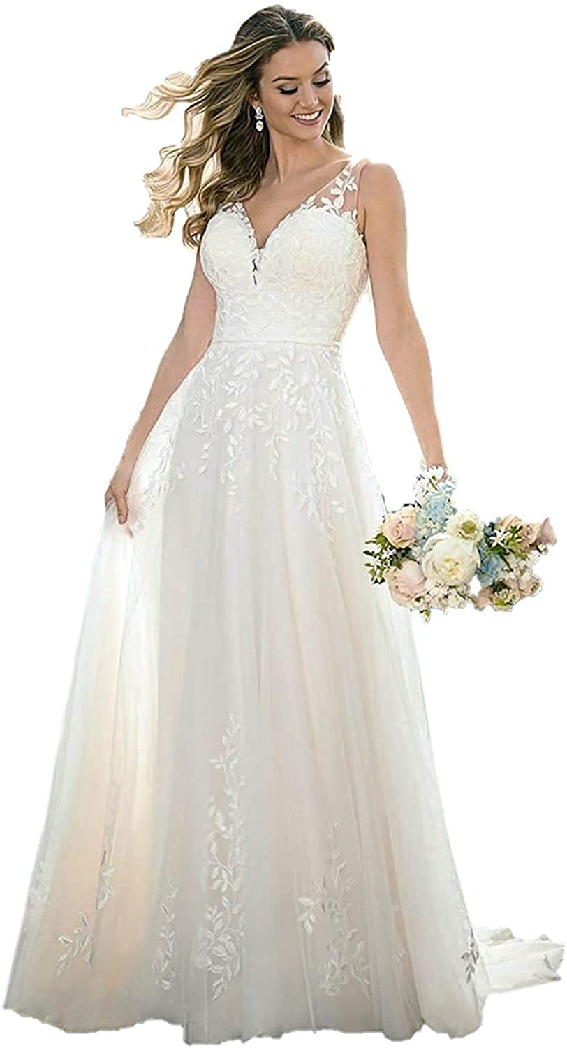 Anna's Bridal Long Sleeve Wedding Dresses for Bride 20 Lace ...