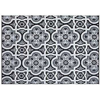 Amazon Com Rv Mat Patio Rug Chevron Pattern 9x12 Tan