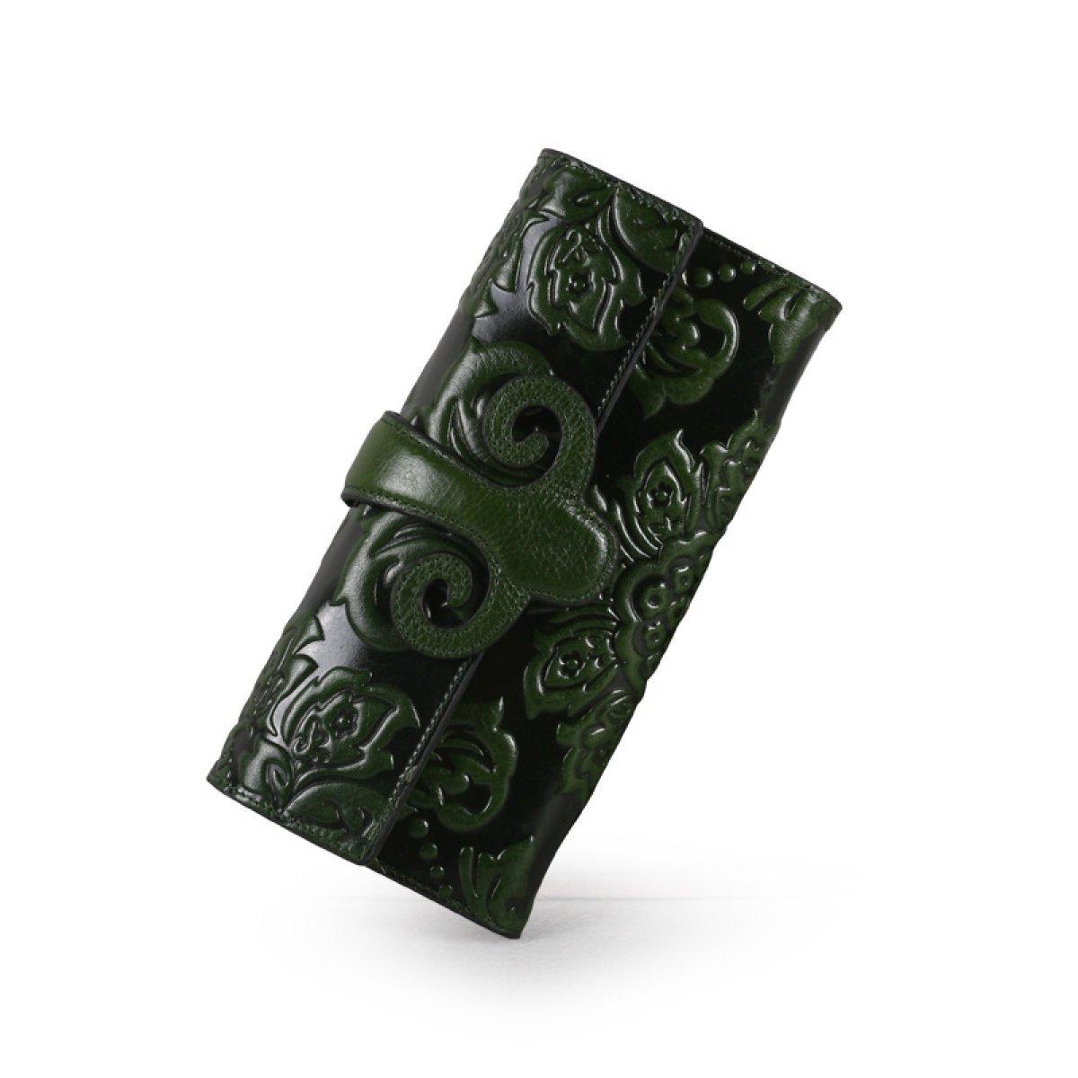 WU ZHI Lady Leder Multi-Card-Position Geld-Clips Brieftaschen B072KWNDS3 Geldbrsen