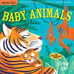 Babies love baby animals, and now they can learn all about them in a book that's indestructible. This charmingly illustrated menagerie includes some of the fuzziest, wuzziest, cuddliest, and cutest babies in the animal kingdom. With ov...