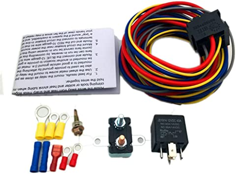 Amazon.com: ALLMOST 40205G Electric Fuel Pump Harness and Relay Wiring Kit  NEW: AutomotiveAmazon.com