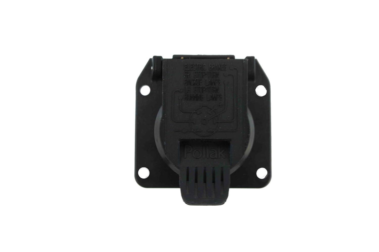 Amazon.com: Genuine Audi Accessories 4L0055305U 7-Pin Towing Connector:  Automotive