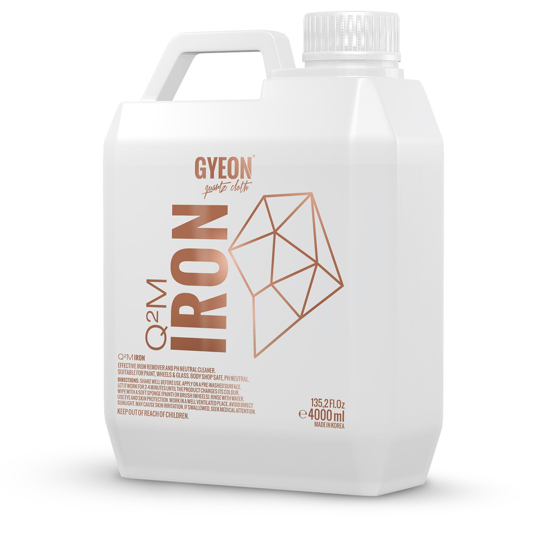 GYEON quartz Cloth Gyeon Iron Remover | Wheel Cleaner | Paint Cleanser (500 ml) (4000ml)