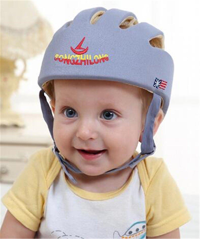 Tmrow 1pc Toddler and Kids Protective Cap Lightweight Helmet