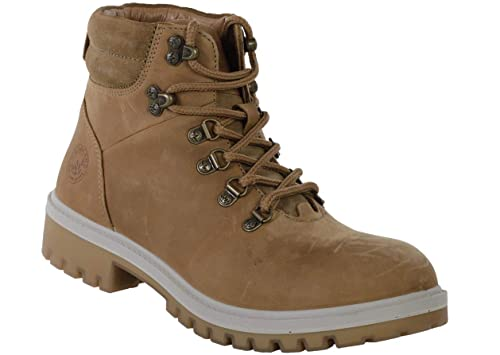 Woodland Men's Camel Leather Boot-10 UK