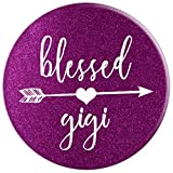 Purple Glitter Blessed Gigi Phone Accessory