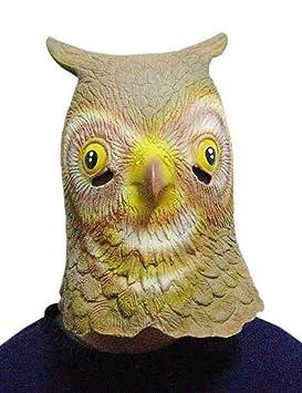 Disfraz De Máscara De Halloween Máscara De Cabeza De Animal De Juguete De Látex para Fiestas