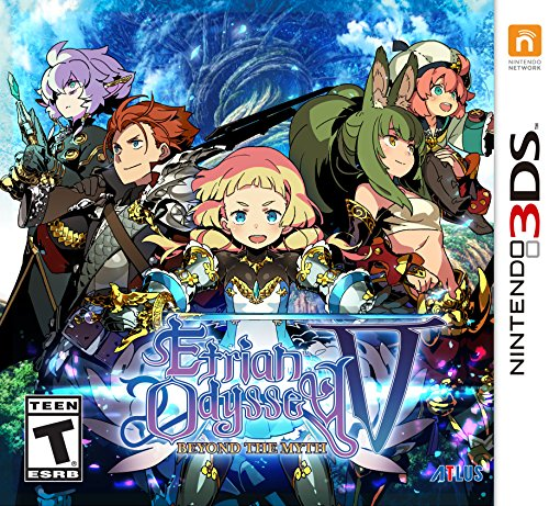 Etrian Odyssey V: Beyond The Myth - Nintendo 3DS by Atlus