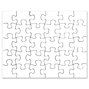 AmazonCom Cafepress  Plain Blank  Jigsaw Puzzle  Pcs Toys