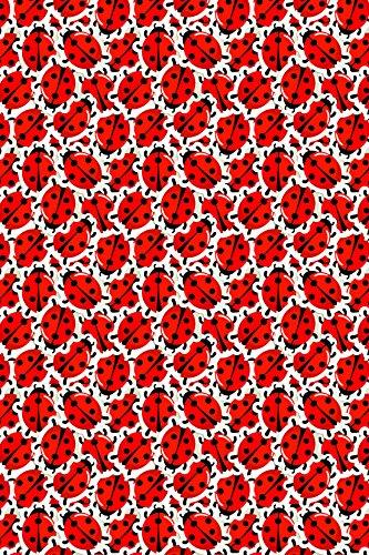 Ladybug love pattern Heat Transfer Vinyl Sheet for Silhouette 12