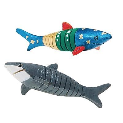 Flexible Wooden Shark Craft Kit: Industrial & Scientific