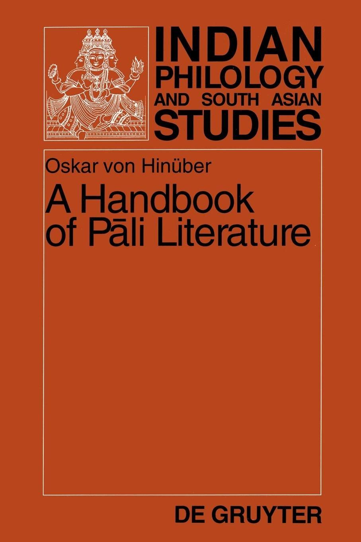 von Hinüber Handbook cover art