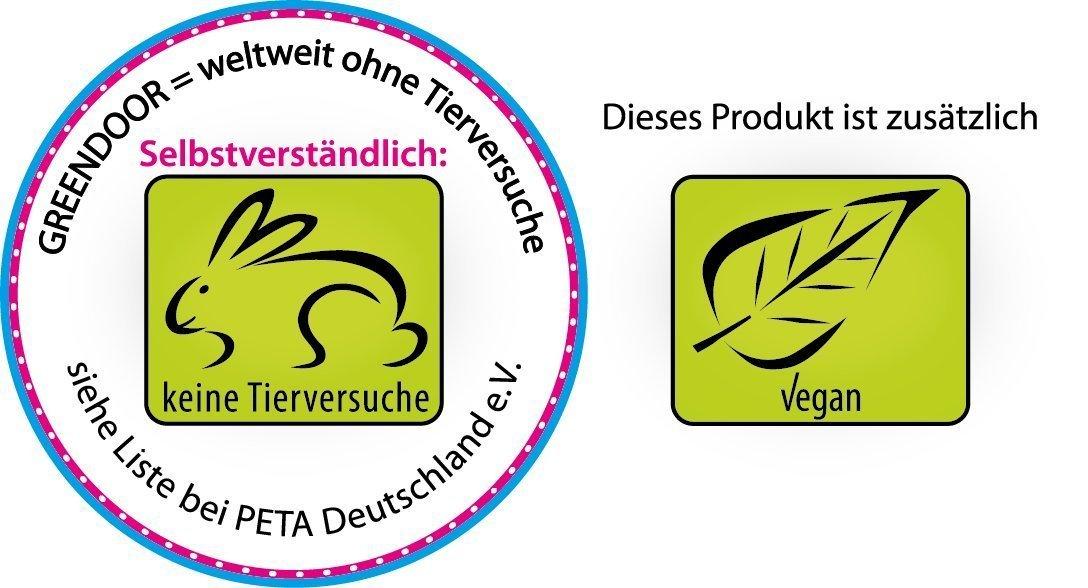 500ml EMBALAJE DE AHORRO Greendoor Loción corporal Aloe Vera, loción corporal en Mejor calidad de fabricación sin Silicona, sin Parabene, vegan, ...