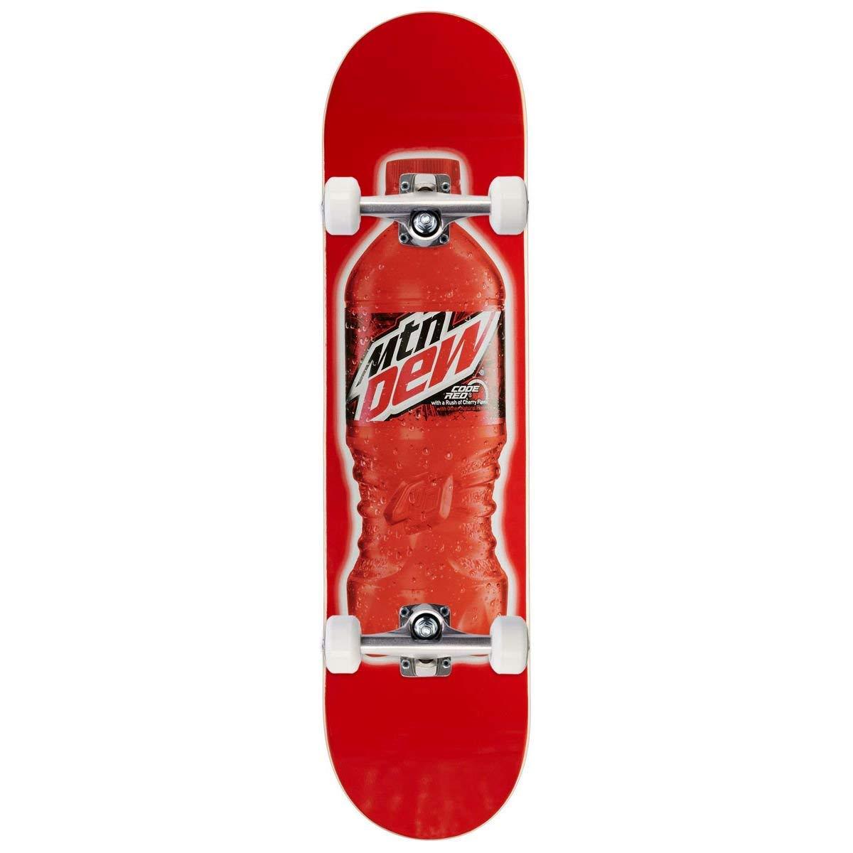 Amazon.com : CCS x Mountain Dew Bottle Skateboard Code Red Decks and ...