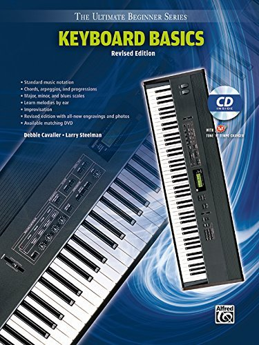 Ultimate Beginner Keyboard Basics: Steps One & Two, Book & CD (The Ultimate Beginner Series) by Debbie Cavalier (1996-07-01) ()