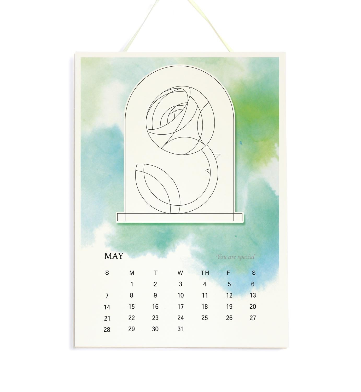 Little Prince - 2018 Wall Calendar, A4 Watercolor Calendar, Children Room Decor, Gift for Le Petit Prince Fans, Kids, and Grow-up, Christmas Presents for Child and Grow-up by IGREANpainting