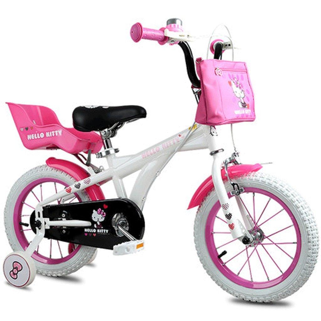 自転車 子供の自転車の女の子12/14/16インチ2-3-6歳の赤ちゃんの自転車プリンセスバイク (サイズ さいず : 14inch) B07DPMLMX8 14inch 14inch