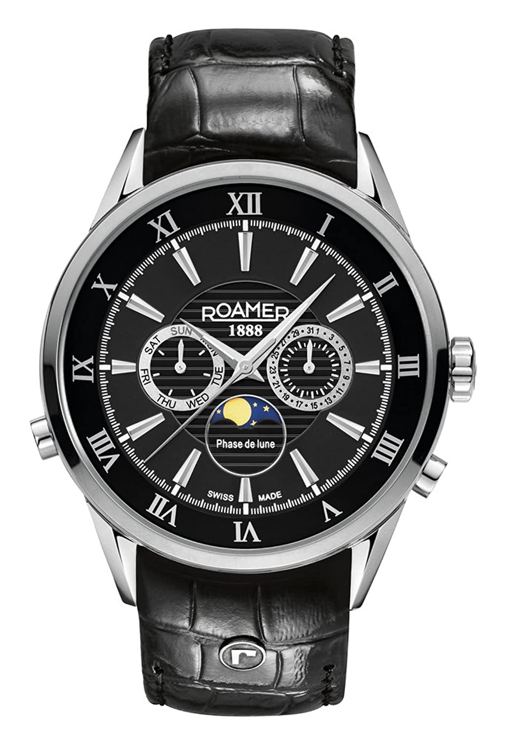 Roamer of Switzerland Herren-Armbanduhr Chronograph Quarz 508821 41 53 05