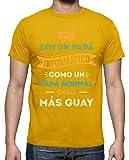 latostadora Camiseta Papá Informático - Camiseta Hombre clásica