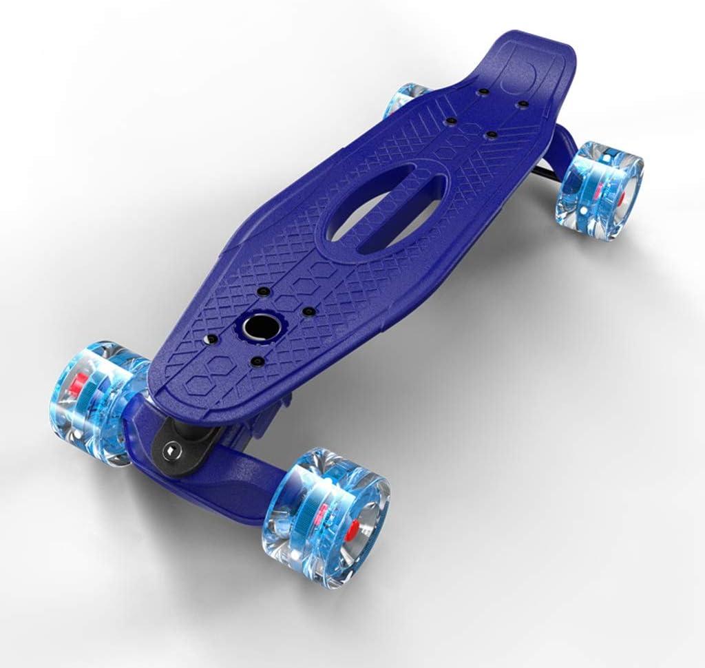 TITIKJB- スケートボードハイエンド小型フィッシュボード初心者や子供向け大人の四輪ロードスクーター (Color : B) B