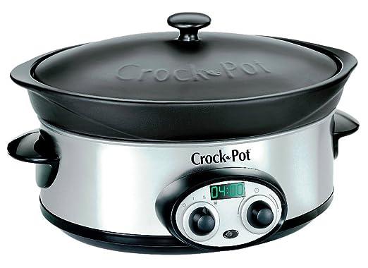Crock Pot SCVI600BS-I - Cazuela eléctrica (5,7 L) [ Importado de ...