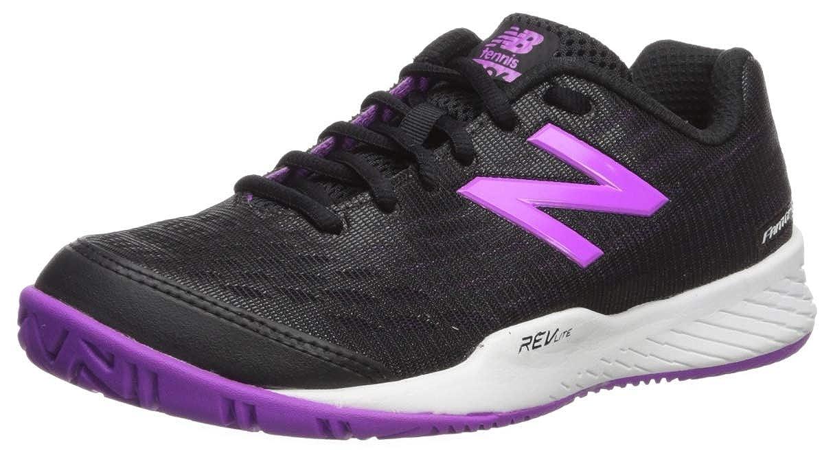 Noir (noir Voltage Violet B2) 44 EU nouveau   896, Chaussures de Tennis Femme