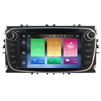 Autosion Android 8.0 Reproductor de DVD de Coche GPS Estéreo Unidad de Radio de Navegación WiFi