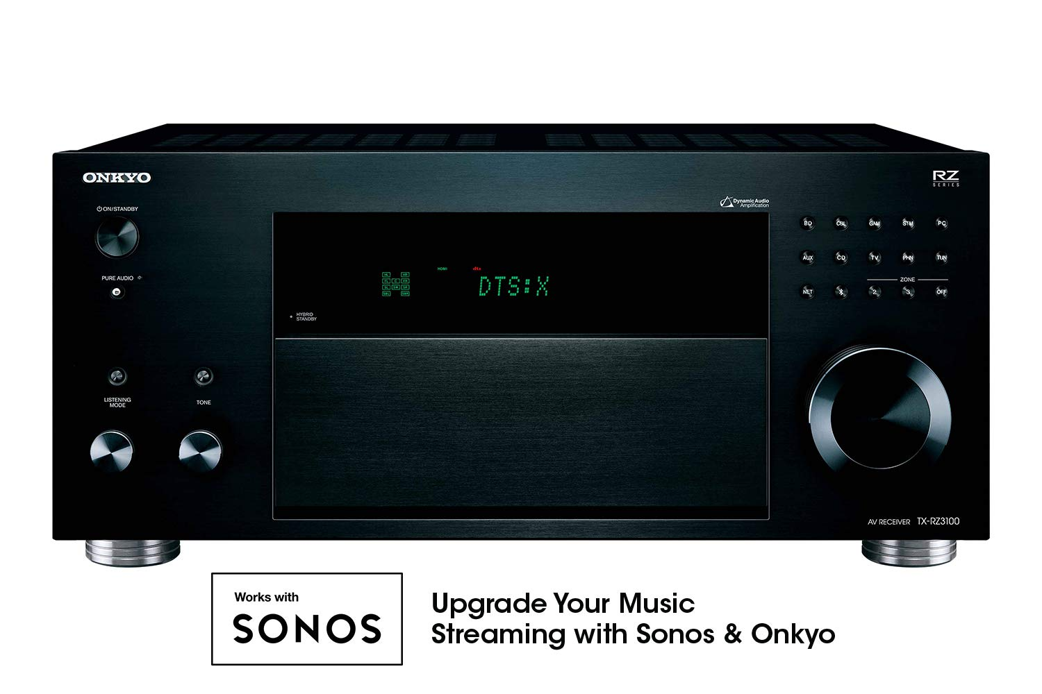 Onkyo TX-RZ3100 THX-Certified 11.2 Channel Network A/V Receiver