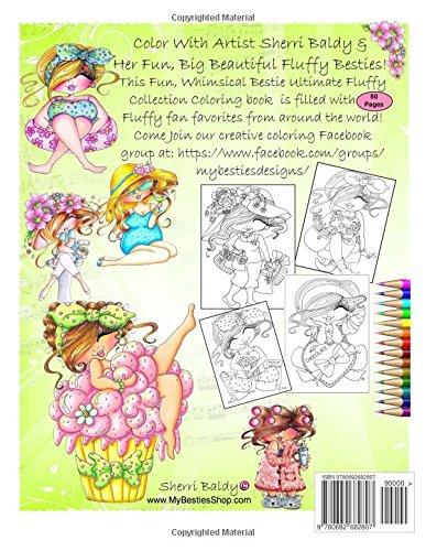 Sherri Baldy My Besties Fluffys Coloring Book Now Sherri Baldys