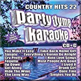 Country Hits 22 [16-song CD+G]