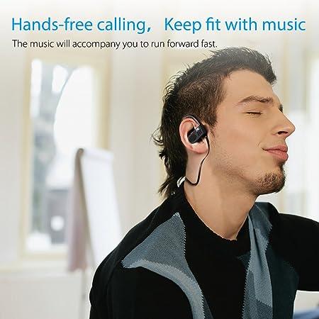 Auriculares Bluetooth 4.1, YXwin Auriculares Inalámbricos In Ear con Micrófono Cascos Bluetooth con Sonido Estéreo Llamadas a Manos Libres para iPhone 7 ...