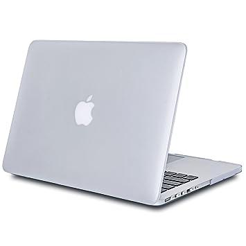 Tecool Funda MacBook Pro 15 Retina, Ultra Slim Cubierta de Plástico Duro Case Carcasa para MacBook Pro 15