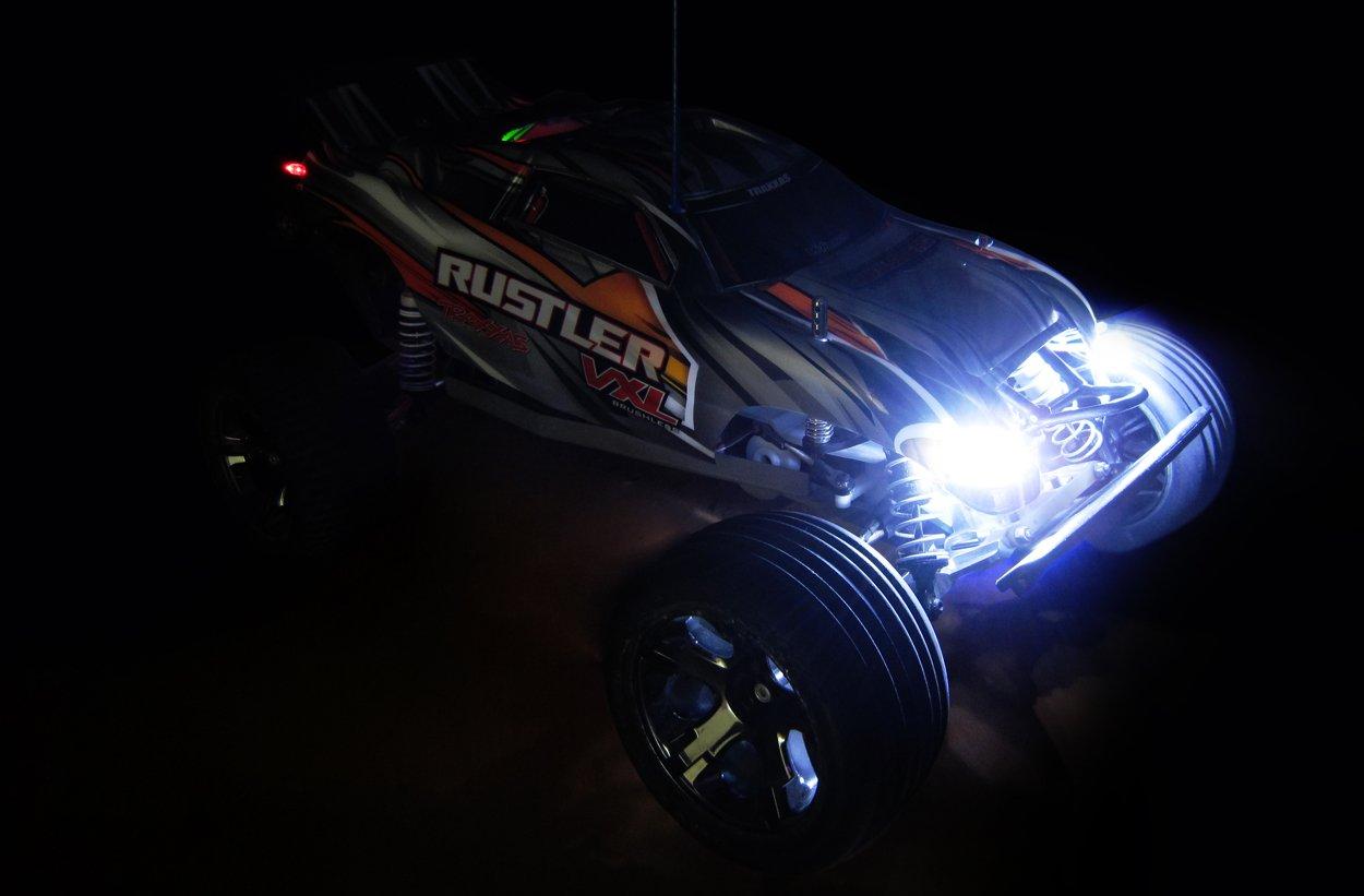 LED Lighting Kit for Cars and Trucks 1/10th Scale and Smaller Common Sense RC LEDKIT-C-1