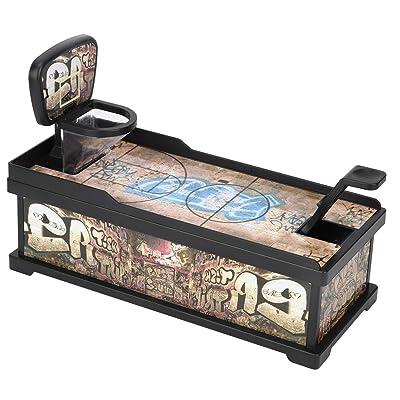 Coin Can, Baloncesto Coin Shooting Money Saving Bank Box para niños Niños Juguete Regalo Juego de Escritorio: Hogar
