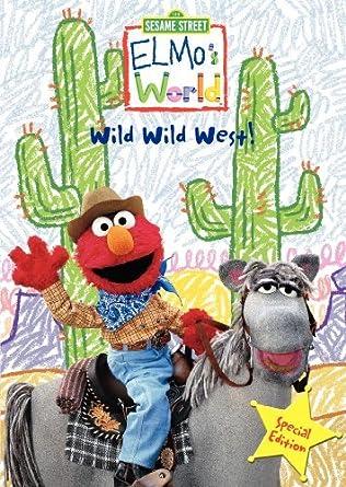 Amazon Com Elmo S World Wild Wild West Special Edition