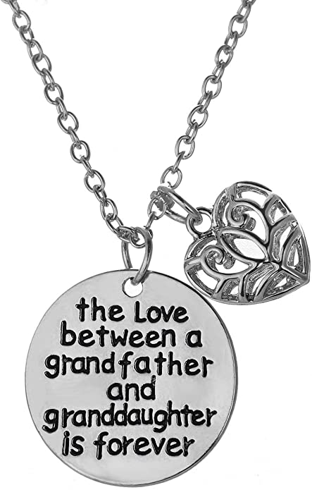 Is Hot Granddaughter Necklace from Grandfather