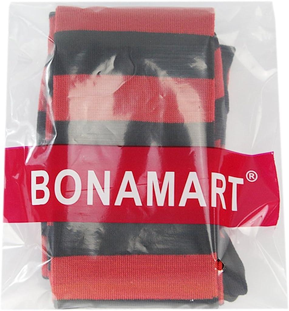 BONAMART /® Damen Gestreift Overknee Str/ümpfe Kniestr/ümpfe Baumwolle mit Elasthan