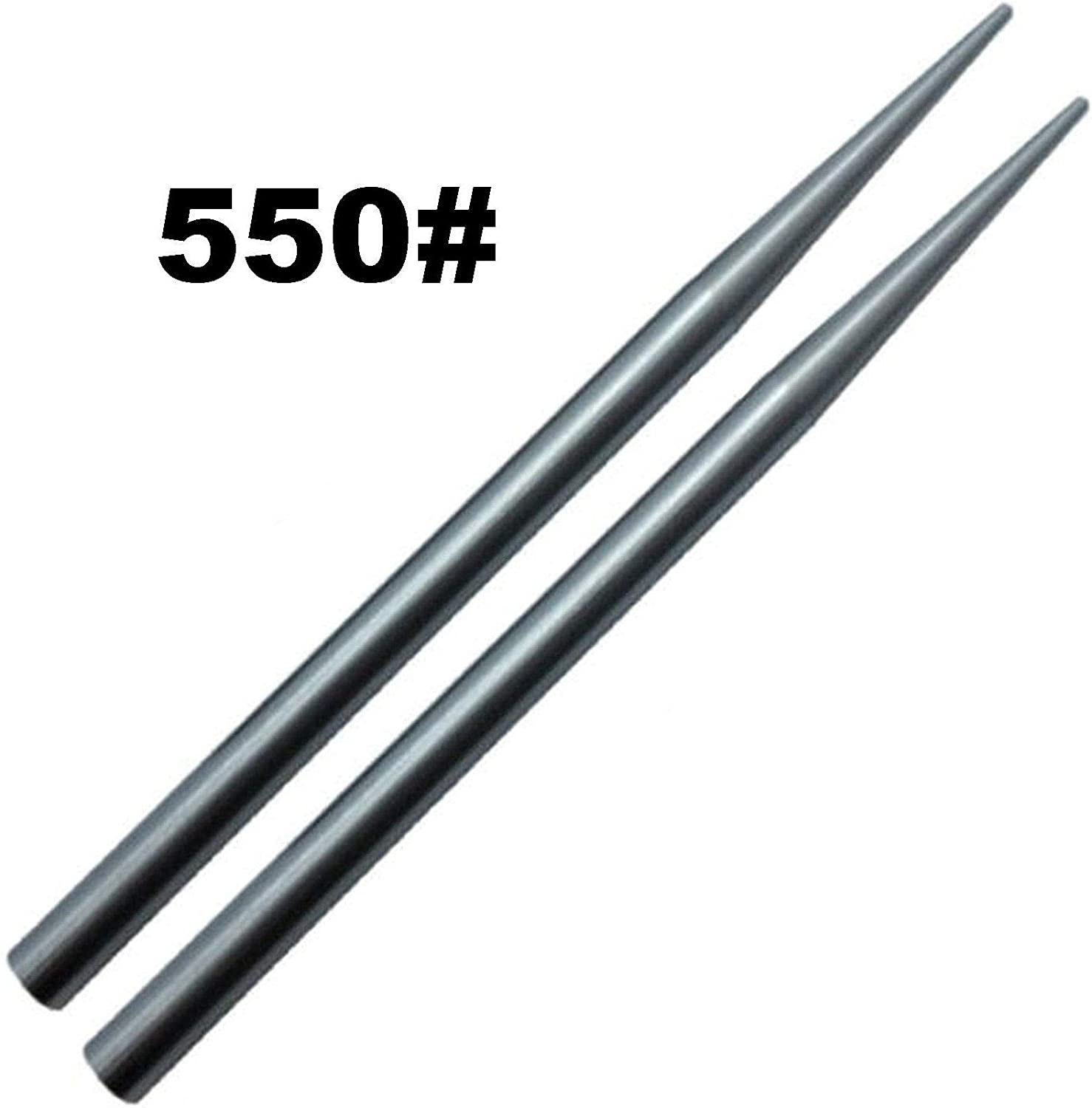 "(2 Pack) von Jig Pro Shop Stainless Steel 3 1/2"" 550 Type Iii Paracord Fid, Lacing, Stitching Needles"