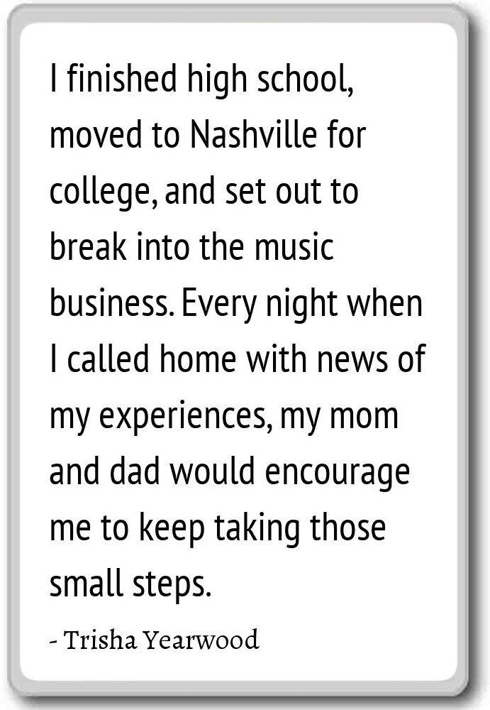 Amazon.com: I finished high school, moved to Nashville ...