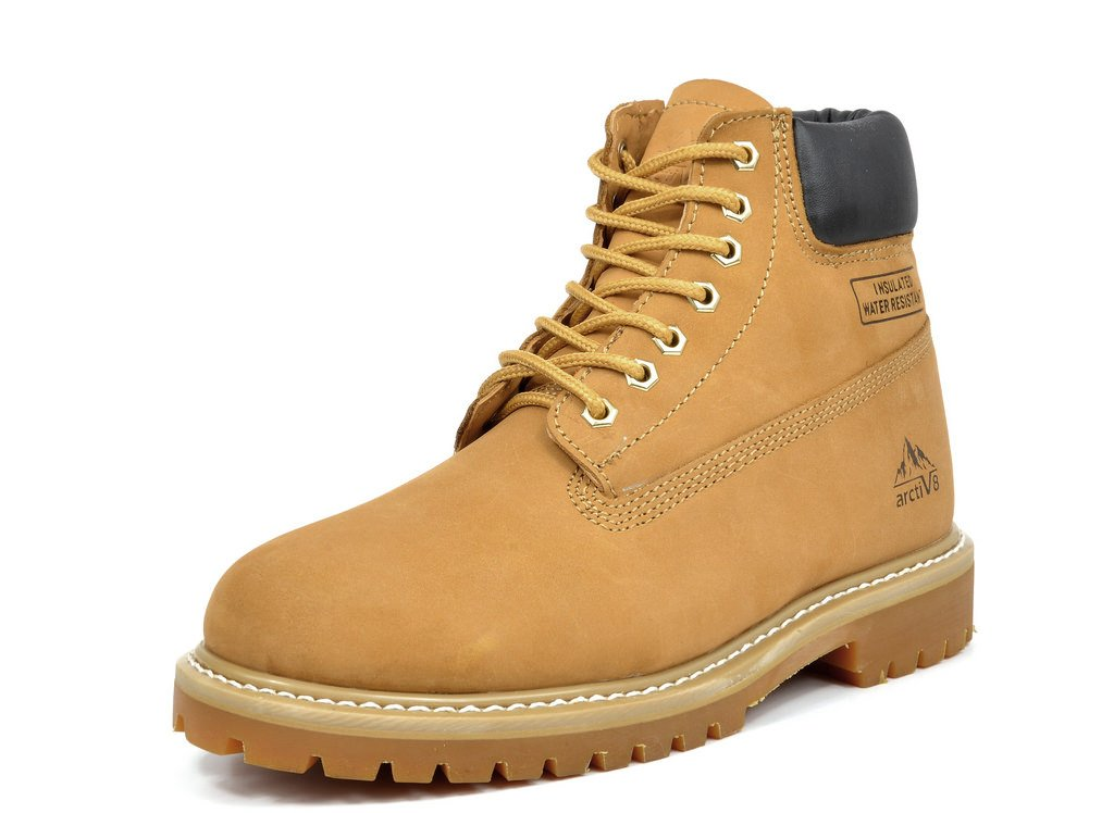 arctiv8 Men's JOB-01 Wheat Full-Grain Leather Work Boots - 12 M US